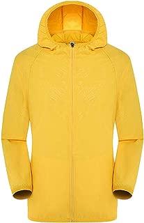 JJHAEVDY Mens Women Windproof UV Protection Cycling Jacket Long Sleeve Wind Coat Softshell Breathable Outdoor Sportswear