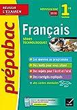 Français 1re technologique Bac 2020: inclus oeuvres au programme 2019-2020