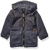 iXtreme Baby Boys Lightweight Fleece Jacket, Charcoal, 18M
