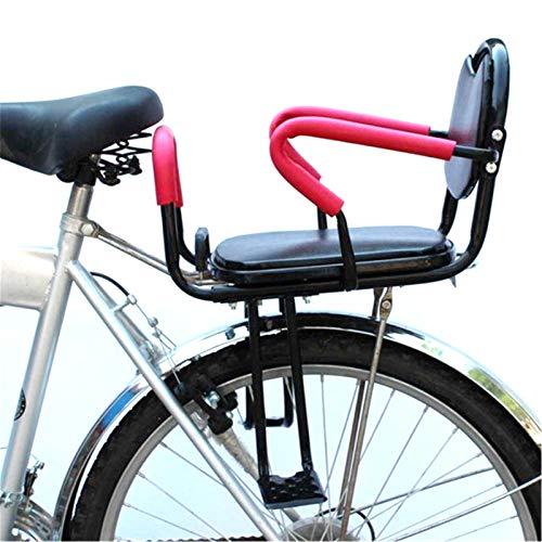 Asiento De Bicicleta para Niños, Asiento De Bicicleta Trasero para Niños Pequeños, Asiento Trasero De Ensanchamiento Seguro para Bebés De 1 a 6 Años