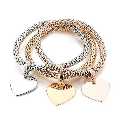 RFGHATG Delicate Sieraden Boom Hart Armband En Armband Ketting Set Vriendschap Afstand Armband