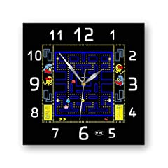 Exclusive design of clock Pac-Man add the finishing touch to your home or office décor The clock Pac-Man is made from high quality plastic which is flexible, easy, sturdy and with crystal clear image. This clock neither frame nor glass cover and it m...