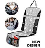 Car Seat Protector - Premium Carseat Auto Cover - For Baby & Infant Safety Seat as Kick Mat - Covers your...