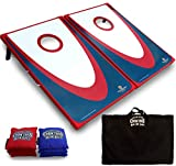 Best Cornhole Game Sets - Driveway Games Backyard Cornhole Set. Tailgate Corn Toss Review