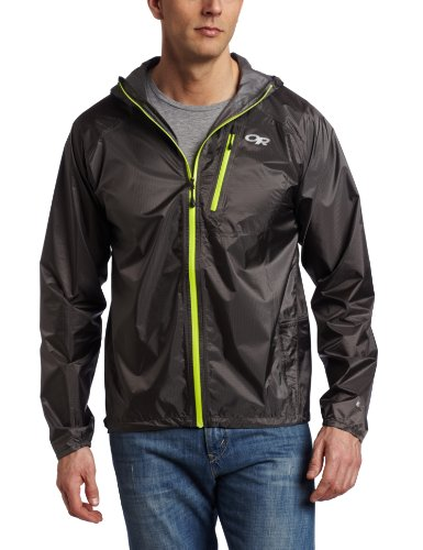 Outdoor Research Men's Helium II Jacket, Pewter, Large