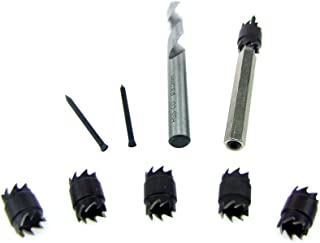 HFS (R) Double End Spot Weld Cutter One Arbors w/Cutting Blades + Five Replacement Cutting Blades