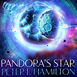 Pamdora's Star. The Commonwealth Saga book 1. By Peter F Hamilton.