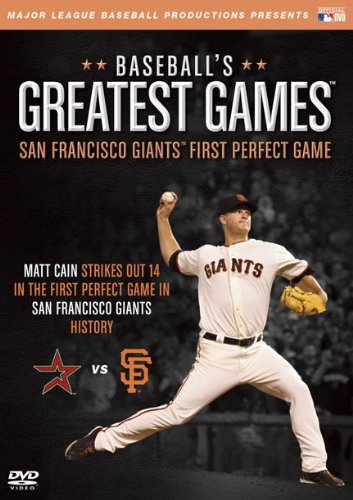 Baseballs Greatest Games: San Francisco Giants [DVD] [Region 1] [NTSC] [US Import]