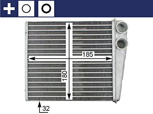 Mahle AH 208 000S Intercambiador de Calor Interior
