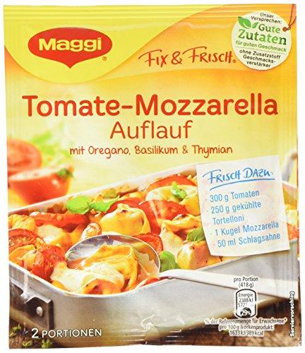 Maggi fix & frisch, Tomate-Mozzarella Auflauf, 19er Pack (19 x 34 g)