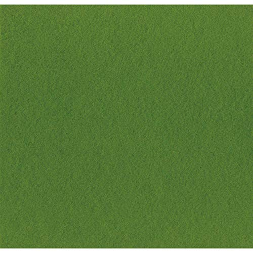 Artemio 13070039 Set de 10 Feuilles, Feutrine, Vert, 30,5 x 0,1 x 30,5 cm
