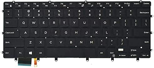 Laptop Replacement Keyboard Fit Dell XPS 15 9575 7590 0HC1GN ...