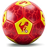Hahaland Kids Soccer Ball Size 3 Glitter Effect...
