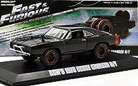 """GREENLIGHT 1:43SCALE """"FAST&FURIOUS 7"""" """"DOM'S 1970 DODGE CHARGER R/T OFF ROAD""""(BLACK) グリーンライト 1:43スケール 「ワイルドスピード スカイミッション」 「ドミニク 1970 ダッジ・チャージャー R/T オフロード」(ブラック)"""