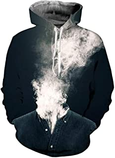 9Yourtime Eagle American Flag Hoodie Pullover Sweats Tops Hip Hop Sweatshirt