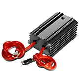 Universal Electric System Car Battery Voltage Stabilizer Regulator w/Cable (Gun Metal)