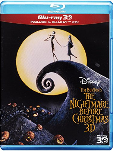 The nightmare before Christmas (2D+3D) [Italia] [Blu-ray]