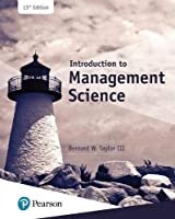 Introduction to Management Science (What's New in Operations Management)