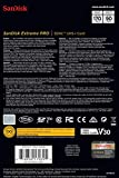 SanDisk 128GB Extreme PRO SDXC UHS-I Card - C10, U3, V30, 4K UHD, SD Card - SDSDXXY-128G-GN4IN