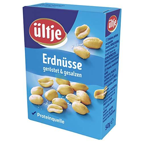 ültje Erdnüsse, geröstet und gesalzen, im 10er Pack (10 x 50 g)