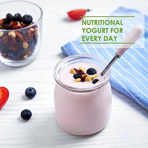 Yogurtera Aicok Yoghurt Hecho en Casa 8 Jarros de Vidrio 1440ml ...