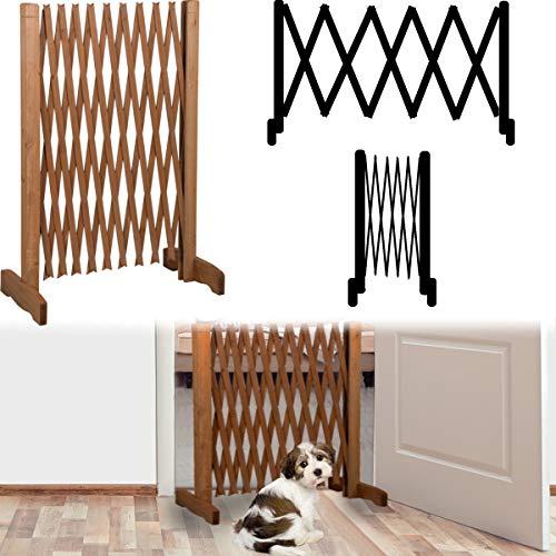 Stimo, griglia di protezione per cani, larghezza regolabile, adatta alle porte