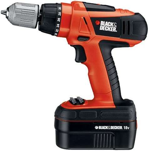 Black Decker Popularity Limited time sale HPD18K-2 18-Volt Ni-Cad Cordless D 8-Inch 3 Drill