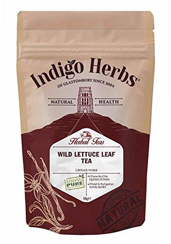 Giftlattich geschn Wild Lettuce Blatt Tee - Wild Lettuce Herbal Tea - 50g