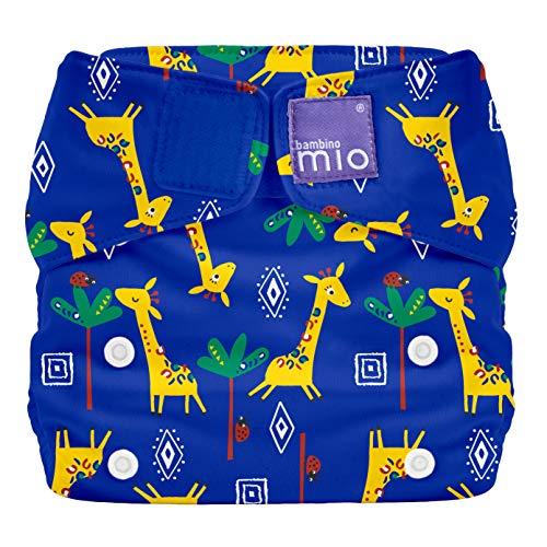 Bambino Mio SO GIR miosolo All-in-One Stoffwindel, Giraffen Gala, mehrfarbig