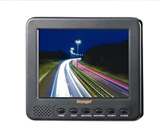 Voyager AOM562A Observation 5.6 Rear View LCD Monitor with 2 Camera Inputs, Aspect Ratio 4:3, Resolution 960 x 234, Brightness 500 cd/m2, Contrast Ratio 250:1, Built-in Speaker, Front Controls,