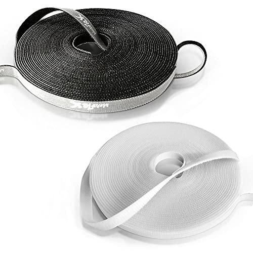 MatoFlex 10 m de largo, cinta de velcro, rollo de cinta de...