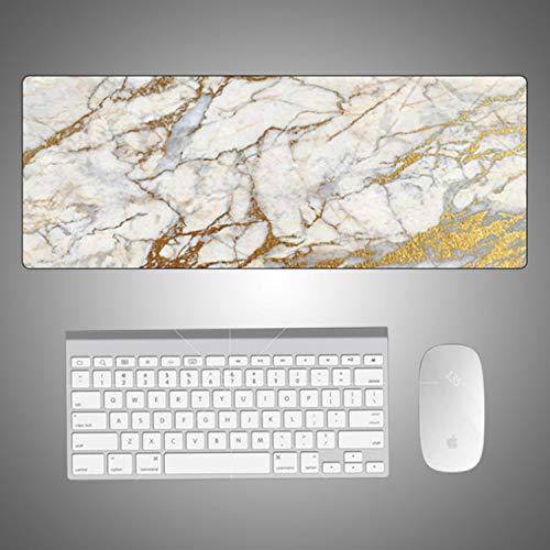 Preisvergleich Produktbild marmorierte Straßenmausunterlage feiner Marmor 300 * 800 * 5mm