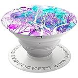 PopSockets PopGrip - [Nicht Austauschbarer] Ausziehbarer Sockel & Handgriff für Smartphones and Tablets - Trees