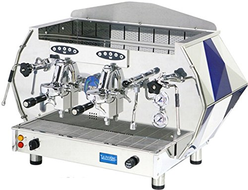 Buy La Pavoni Diamente Volumetric Coffee Maker Color: Blue