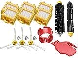 OxoxO Reemplazar 770 Filtro de cerdas y cepillo de batidor flexible 3-Armed Side Brush herramientas de limpieza Kit para 700 Series 760 770 780 790 Aspiradora Accesorio