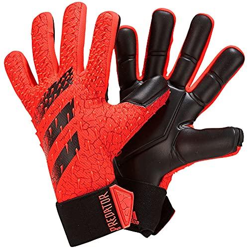 adidas PRED GL COM Guantes de Portero, Adultos Unisex, Rojsol/Rojo/Negro (Multicolor), 8.5