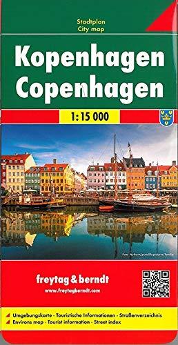 Freytag Berndt Stadtpläne, Kopenhagen - Maßstab 1:15.000: Stadskaart 1:15 000