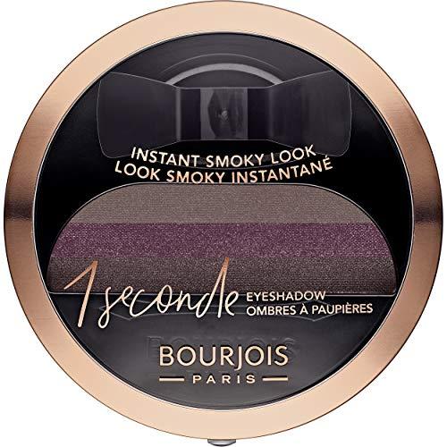 Bourjois - Ombre à Paupières 1 Seconde Eyeshadow - Smoky Facile et Couleur Intense - 03 Belle Plum 3gr