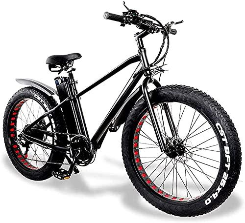 Bicicleta electrica 26 pulgadas Bicicleta de montaña 48V500W Bicicleta eléctrica Marco de aleación de aluminio 21 Velocidad plegable 15Ah 20A batería de litio 150kg City Bike Máxima velocidad 25 km /