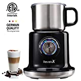 Revelux Milk Frother- 24oz Large Milk Frother Electric,Easy Clean Dishwasher...