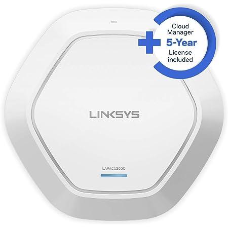 Linksys Lapac1200c Eu Cloud Wlan Access Point Dual Computer Zubehör