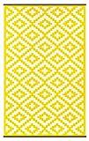 alfombra ordenador amarilla