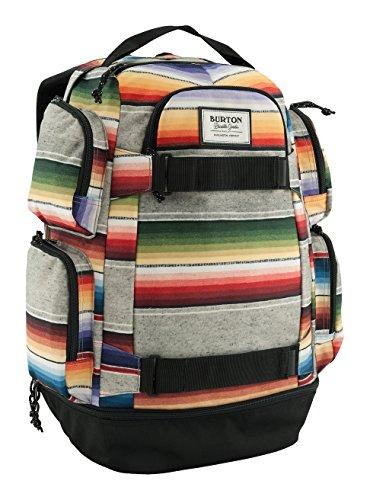 Burton Distortion Mochila, Unisex Adulto, Multicolor (Bright Sinola Stripe), Talla Única