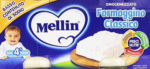 Mellin Baby Formaggino 2 x 80 g