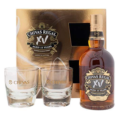 Chivas Regal XV + Gläser 40% Vol. (1 x 0,7l)
