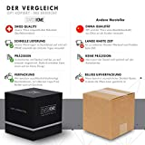 SWISSHOME - Der geruchsdichte XL Aschenbecher mit Deckel für Drinnen und Draußen in edler Geschenkbox - Das ORIGINAL - Das Geschenk für anspruchsvolle Genießer - 7