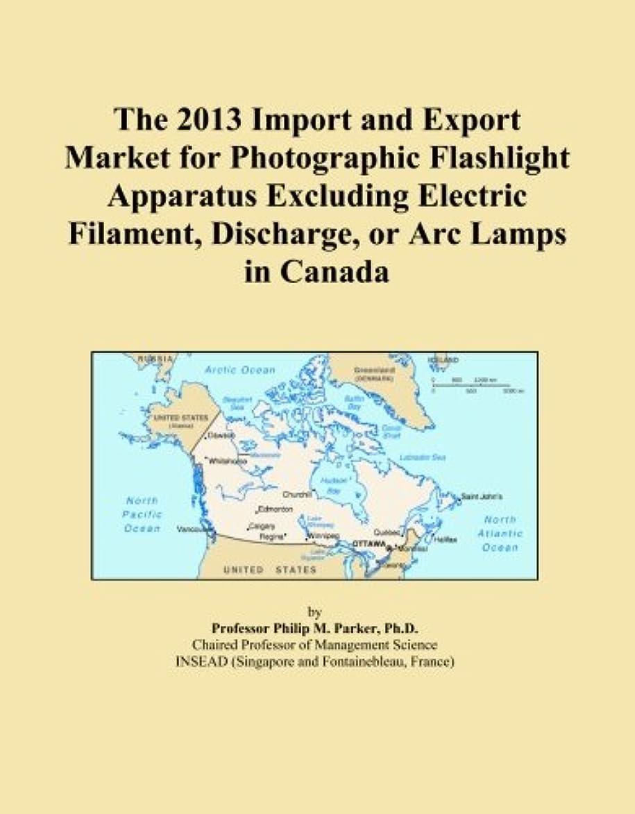 追い付く寄り添う罪The 2013 Import and Export Market for Photographic Flashlight Apparatus Excluding Electric Filament, Discharge, or Arc Lamps in Canada