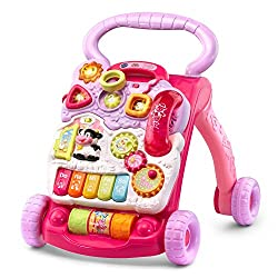 Pink VTech Sit-to-Stand Learning Walker