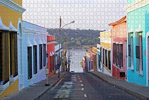 Rompecabezas para Adultos Venezuela Puzzle 1000 Piezas Recuerdo de Viaje de Madera