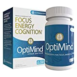OptiMind Nootropics Brain Booster Supplement, Enhance Focus and Energy, As Seen on Netflix ((1) 32 Count Bottle)